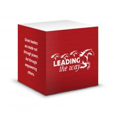 Business Essentials - Leading the Way Self-Stick Note Cube