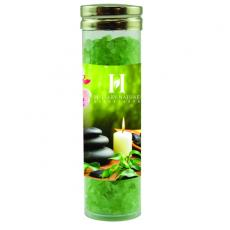 Home & Family - Large Gourmet Plastic Tube with Spa Bath Salt Crystals