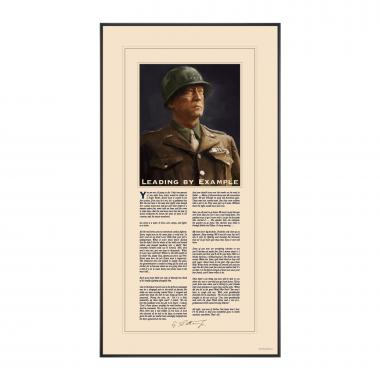 George S. Patton Motivational Poster