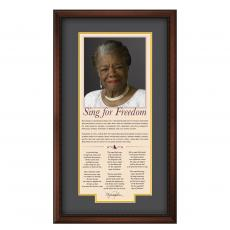 New Products - Maya Angelou Motivational Poster