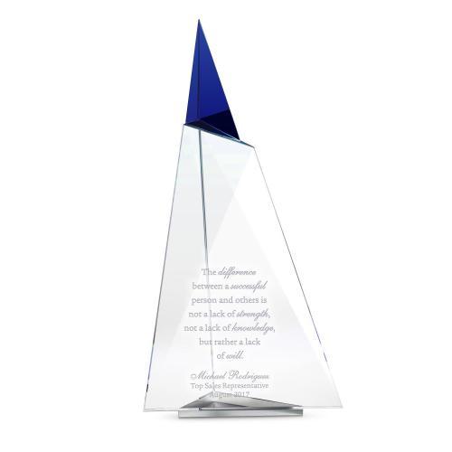 Glacial Peak Crystal Award