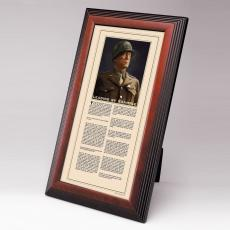 New Products - George Patton Framed Desktop Print