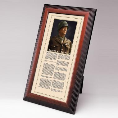 George S. Patton Framed Desktop Print