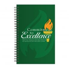 New Books - Commitment to Excellence Spiral Notebook