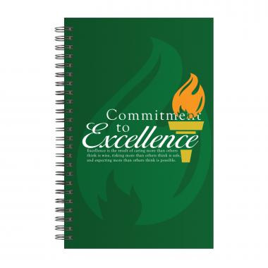 Commitment to Excellence Spiral Notebook