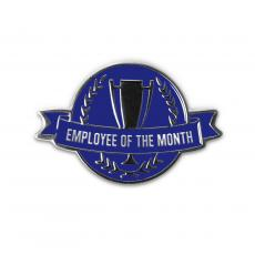 Recognition Pins - Employee of the Month Lapel Pin