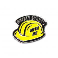 Awards & Recognition - Safety Hardhat Lapel Pin