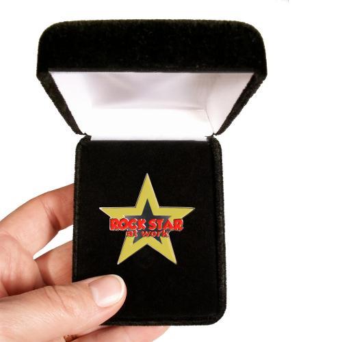 Rockstar at Work Lapel Pin