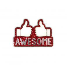 New Products - Awesome Lapel Pin