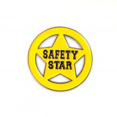 Recognition Pins - Safety Star Lapel Pin