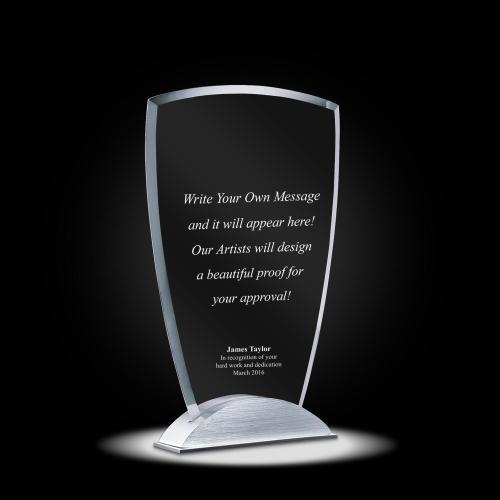 Alexandria Jade Crystal Award