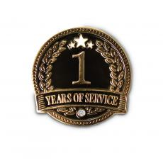 New Products - 1 Year of Service Lapel Pin