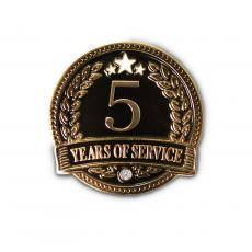 New Awards - 5 Years of Service Lapel Pin