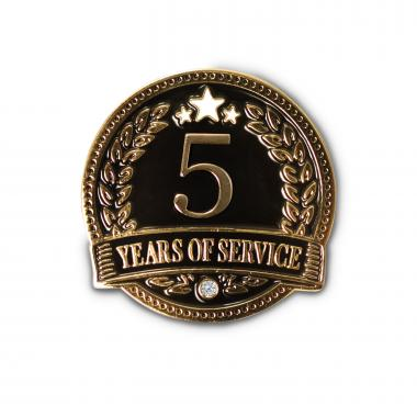 5 Years of Service Lapel Pin