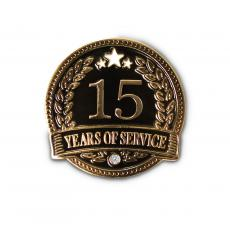 New Products - 15 Years of Service Lapel Pin
