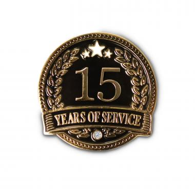 15 Years of Service Lapel Pin