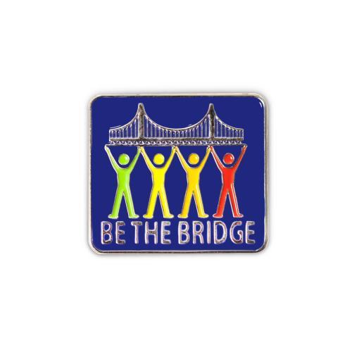 Be the Bridge Lapel Pin