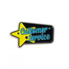 New Products - Customer Service Lapel Pin