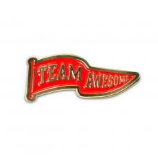 Teamwork Pins - Team Awesome Lapel Pin