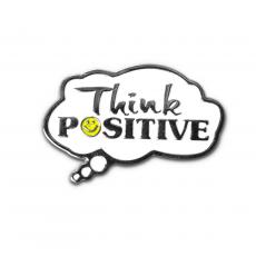 Closeout and Sale Center - Think Positive Lapel Pin