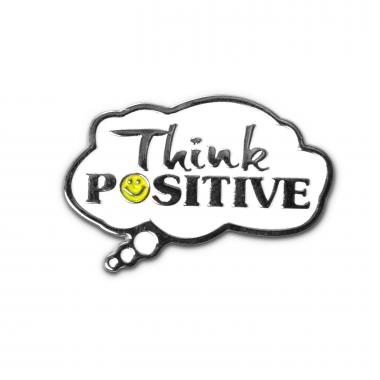 Think Positive Lapel Pin