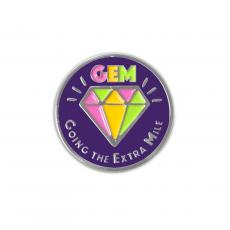 New Products - Going the Extra Mile Lapel Pin