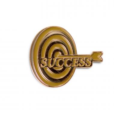 Success Target Lapel Pin