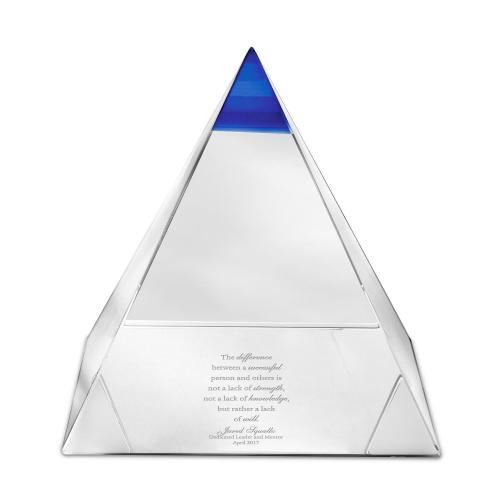 Blue Horizon Crystal Award