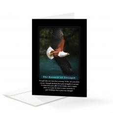 Classic Motivational Cards - Essence of Strength 25-Pack Greeting Cards