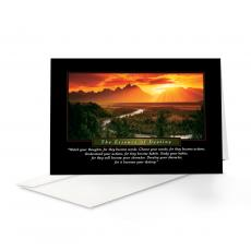 Classic Motivational Cards - Essence of Destiny 25-Pack Greeting Cards