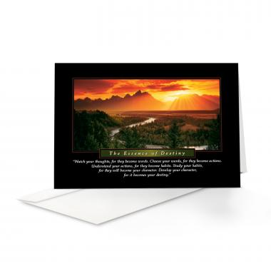 Essence of Destiny 25-Pack Greeting Cards