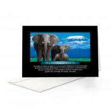Classic Motivational Cards - Essence of Family 25-Pack Greeting Cards