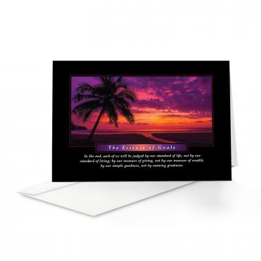 Essence of Goals 25-Pack Greeting Cards