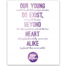 New Products - Our Young - Maya Angelou Inspirational Art