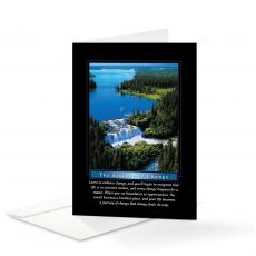 Classic Motivational Cards - Essence of Change 25-Pack Greeting Cards