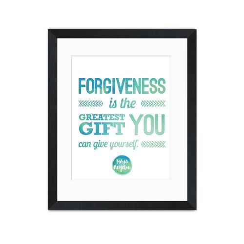 Forgiveness - Maya Angelou Inspirational Art