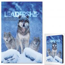 Leadership Wolves Infinity Edge Wall Decor