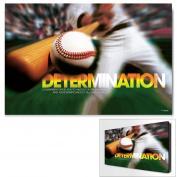 Determination Baseball Infinity Edge Wall Decor