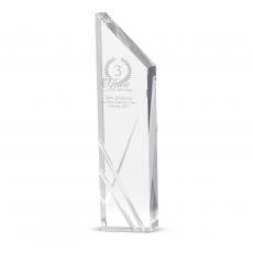 Crystal Trophies - Driven To Success Crystal Award