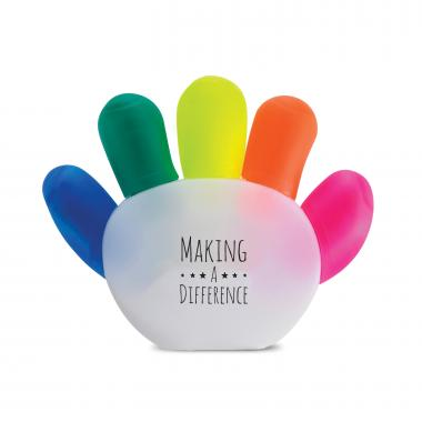 Making a Difference Handy Highlighter Set