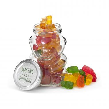 Making a Difference Gummy Bear Jar