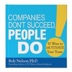 Inspirational Gift Books - Companies Don't Succeed, People Do