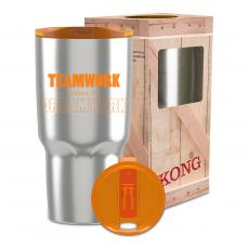 Steel Tumblers & Bottles - Teamwork Makes the Dream Work 26oz Kong Tumbler