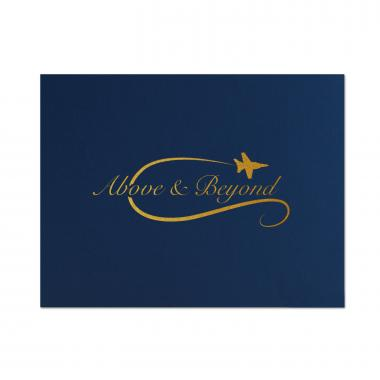 Above & Beyond Linen Certificate Folders