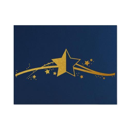 Star Linen Certificate Folders