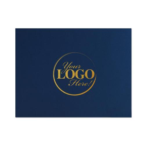 Custom Linen Certificate Folders