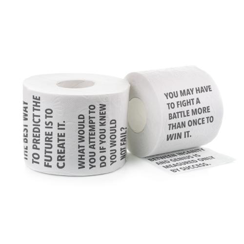 Motivational Toilet Paper