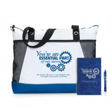 Tote Bags - You're An Essential Part Motivational Tote Gift Set