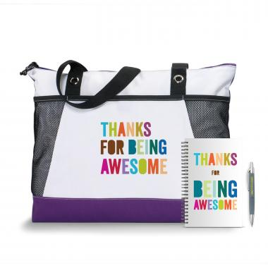 You're An Essential Part Motivational Tote Gift Set