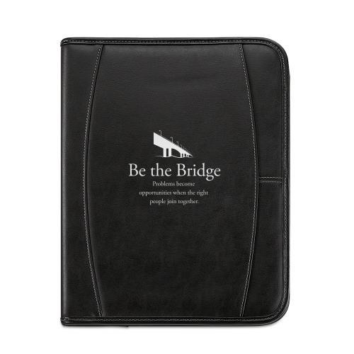 Be the Bridge Leather Padfolio
